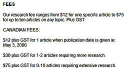 Research Fees